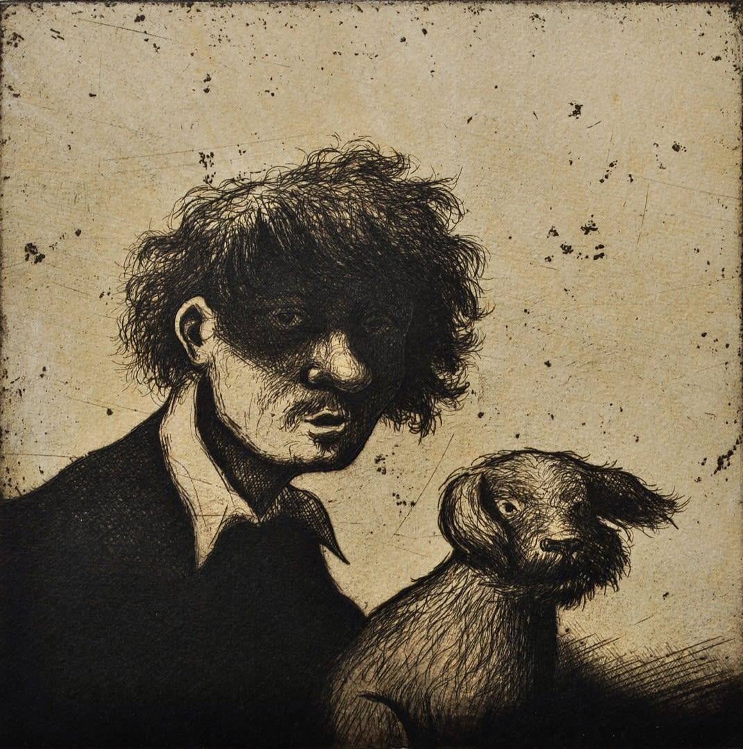 Mychael Barratt, Rembrandt's Dog II