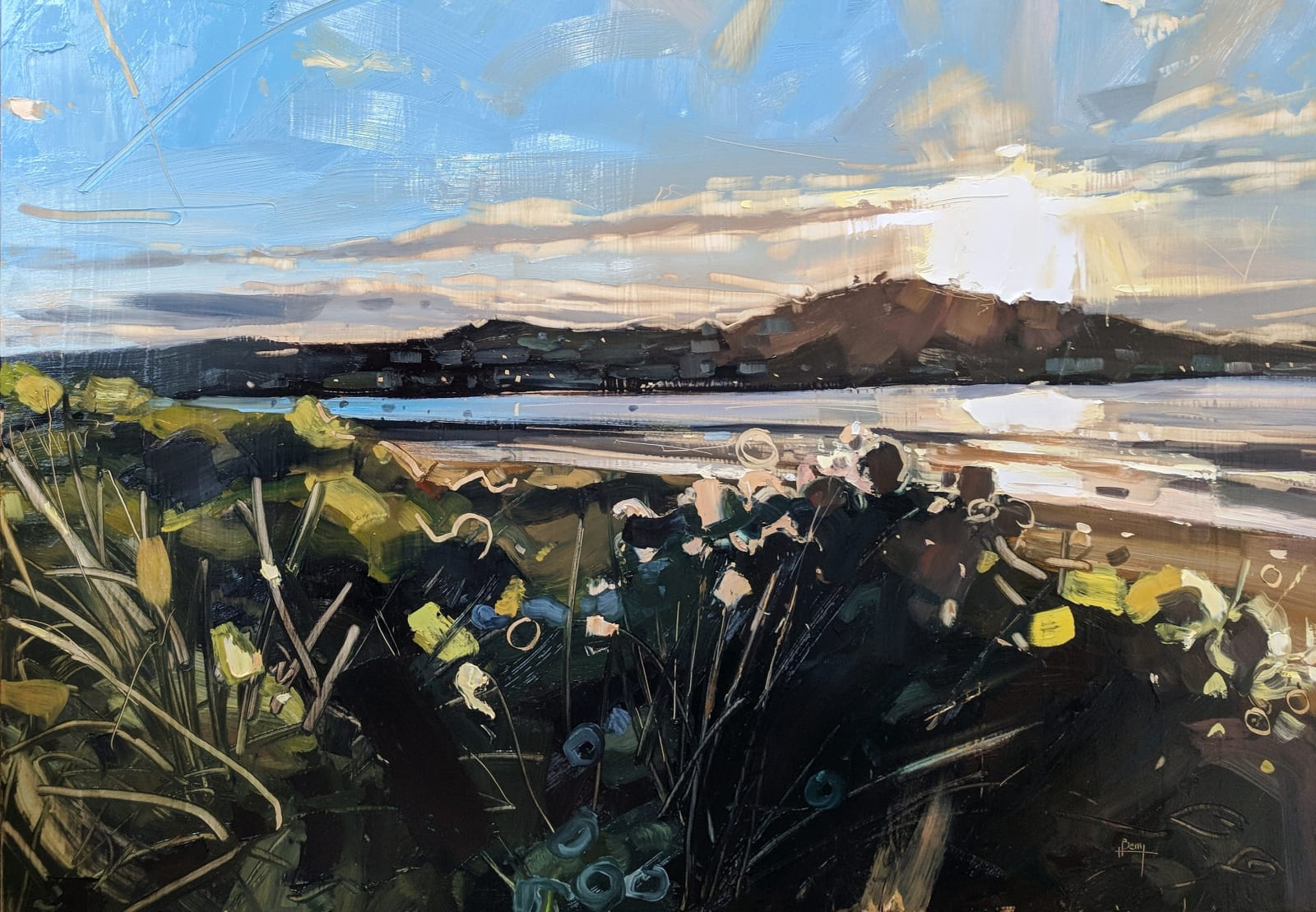 Hester Berry, Instow Evening, 2018