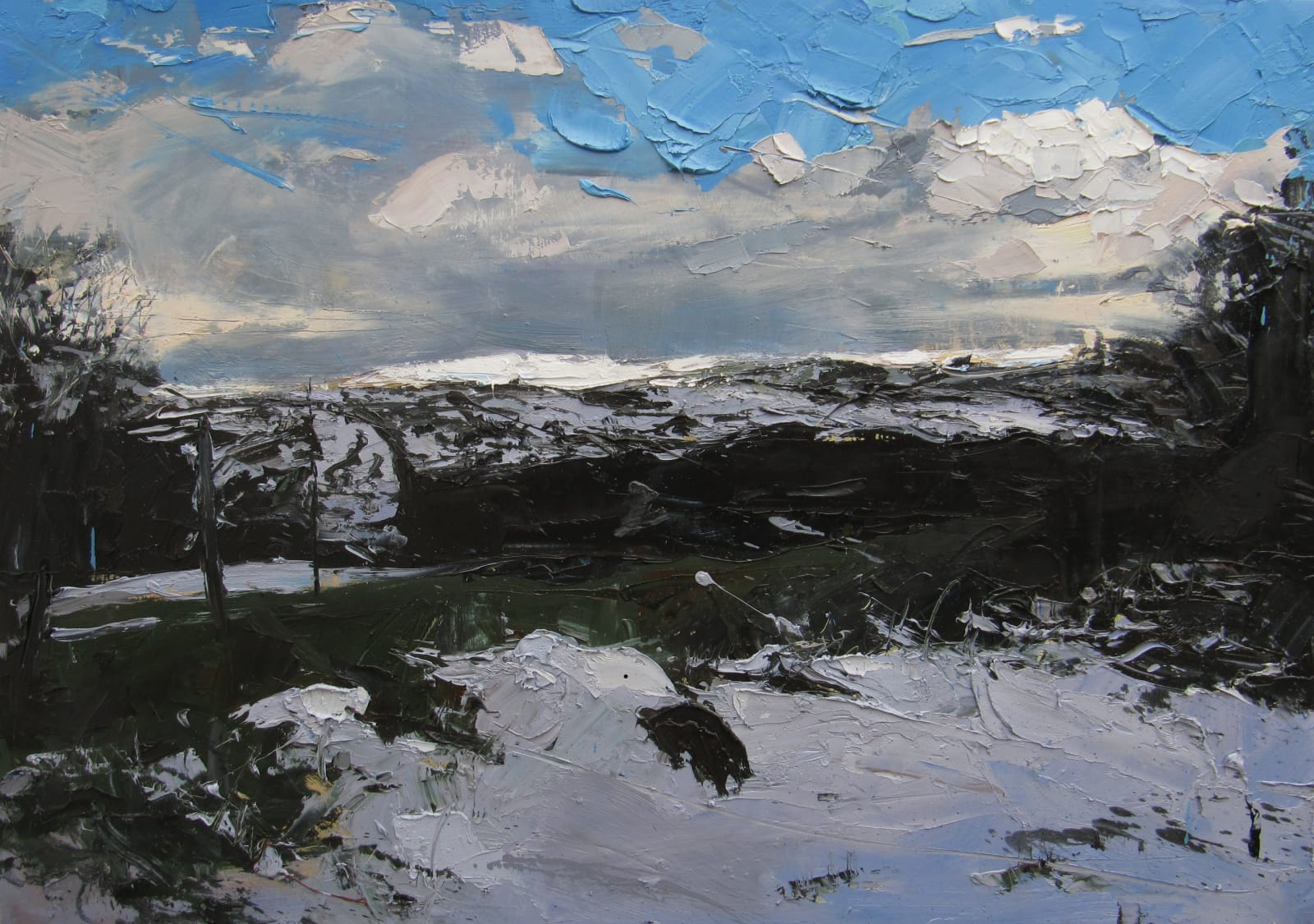 Hester Berry, After a Flurry of Snow, 2018