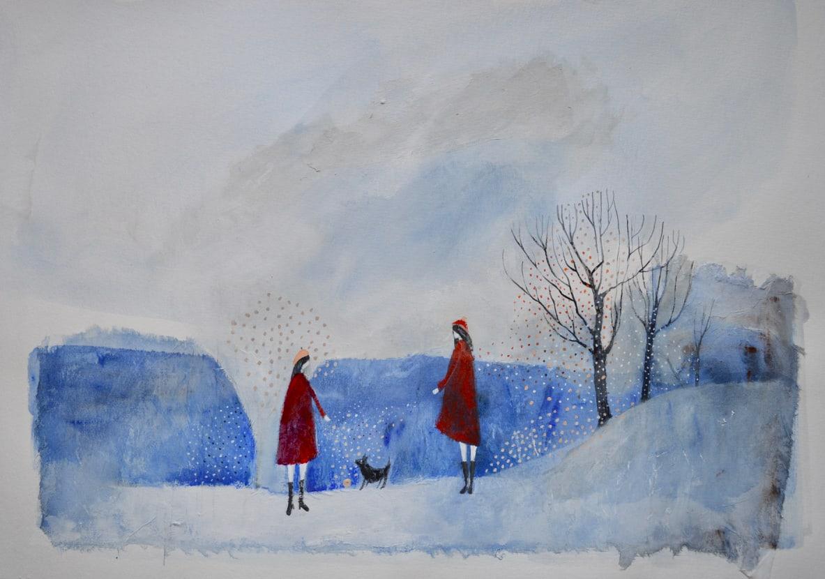 Julie Collins, FIRST WALK