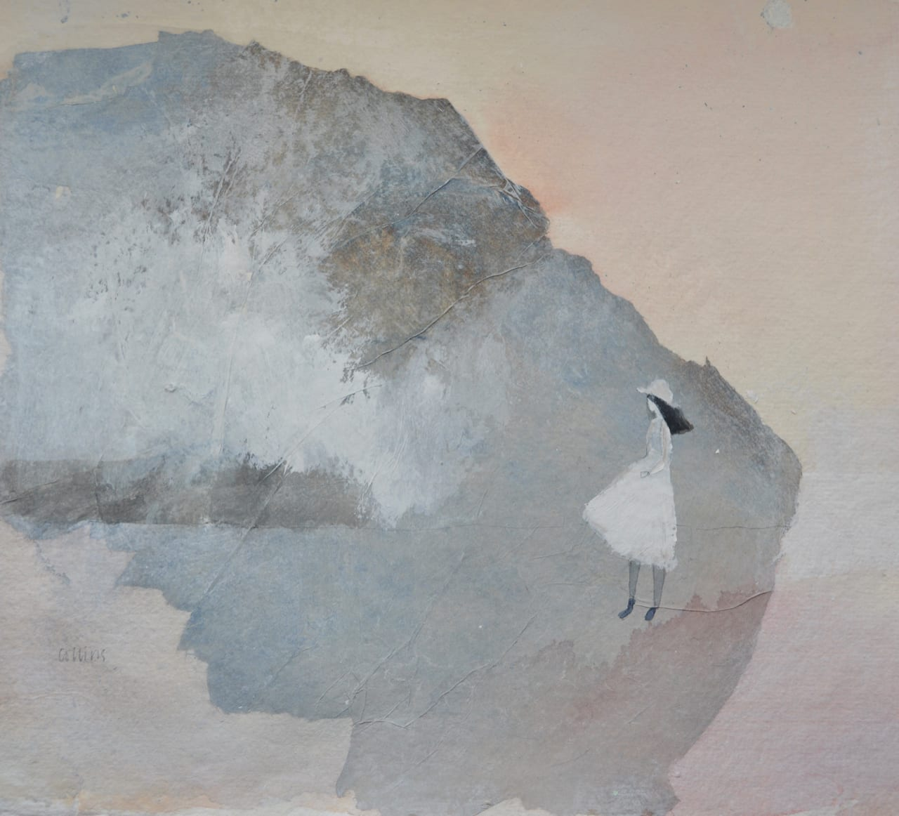 Julie Collins, GIRL IN A WHITE HAT