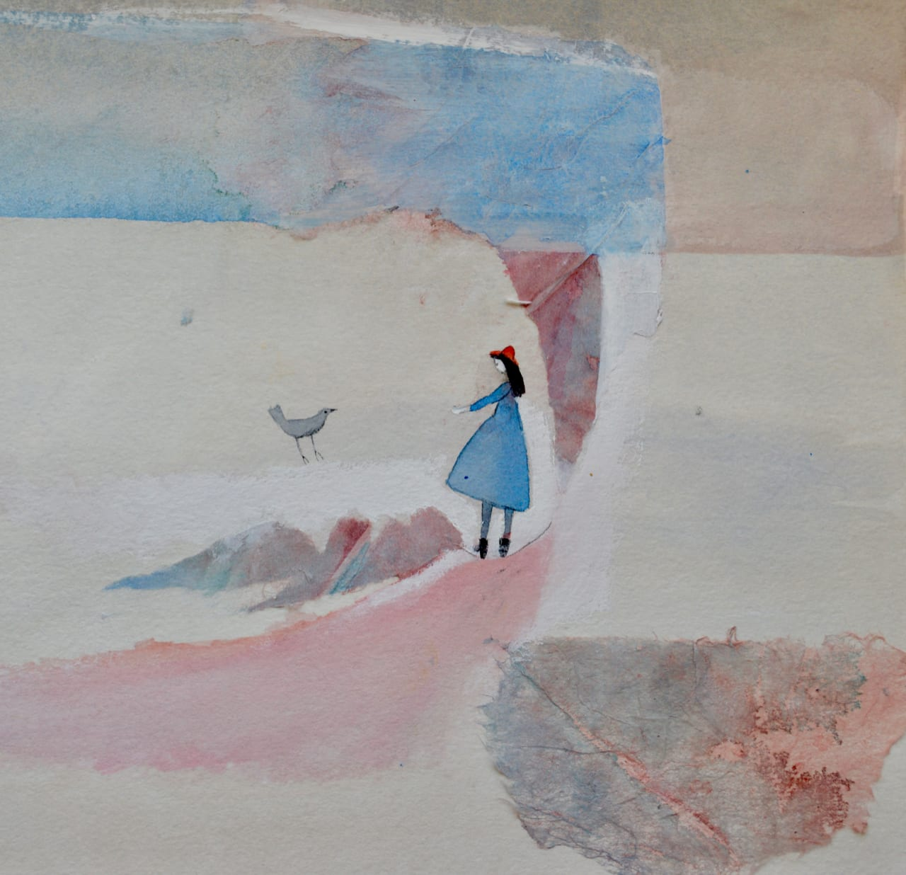 Julie Collins, GIRL IN A RED HAT