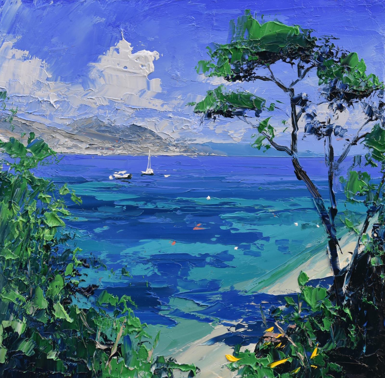 Colin Carruthers, OCEAN LIGHT, CAP FERRAT