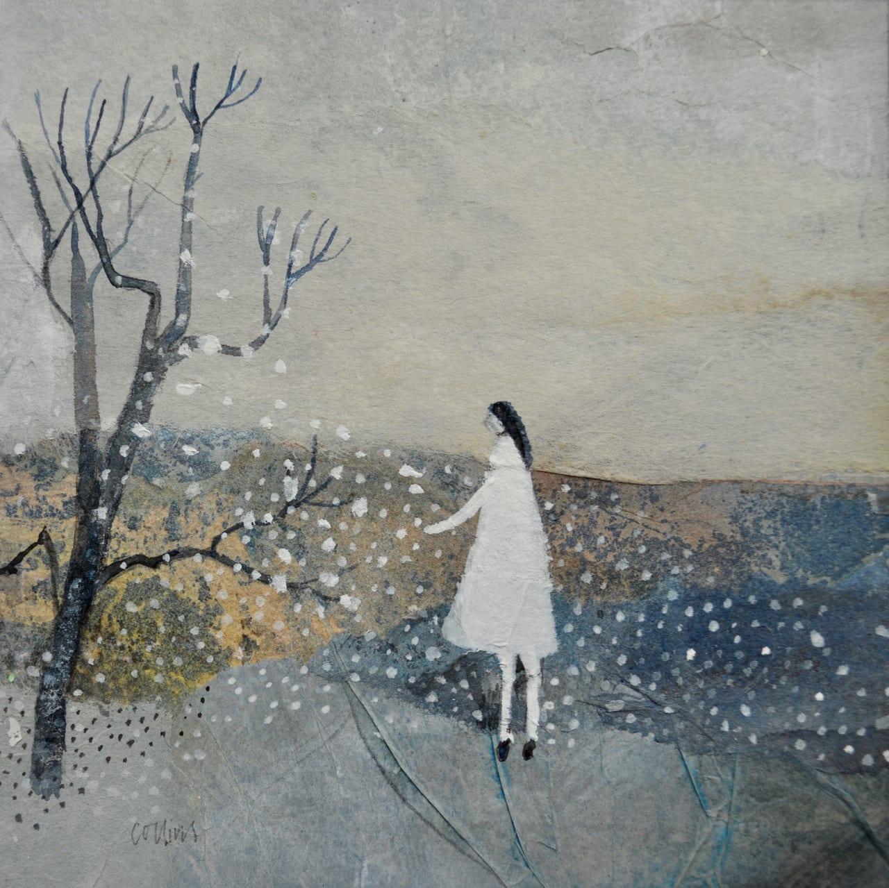 Julie Collins, WHITE DRESS