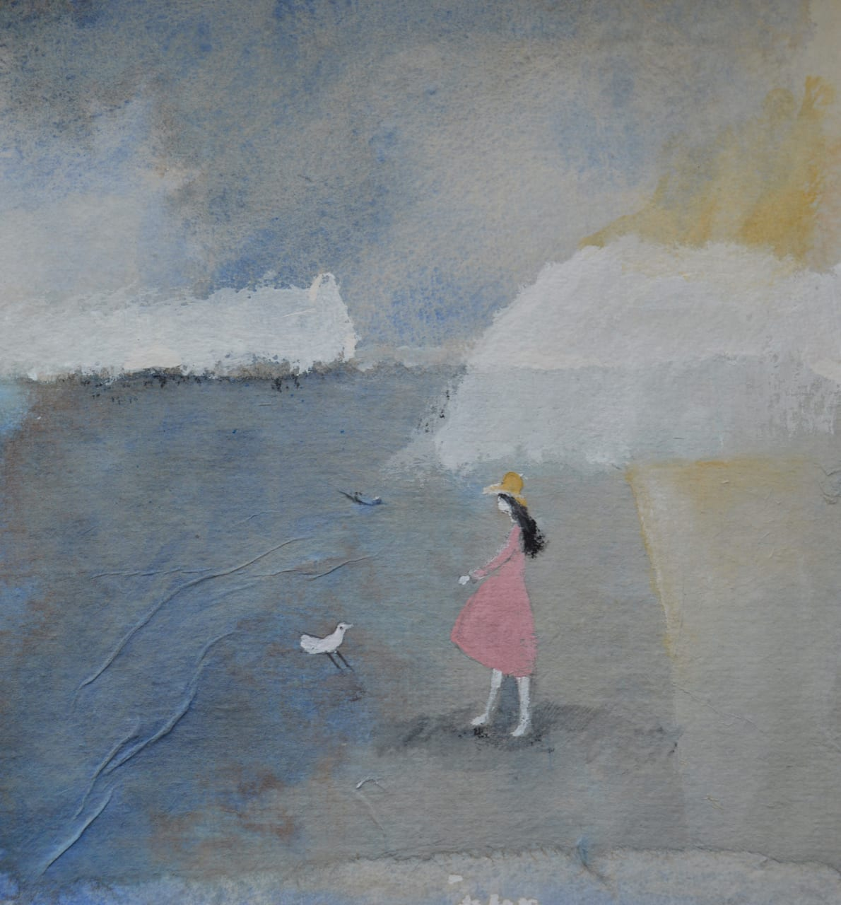 Julie Collins, GIRL IN A YELLOW HAT