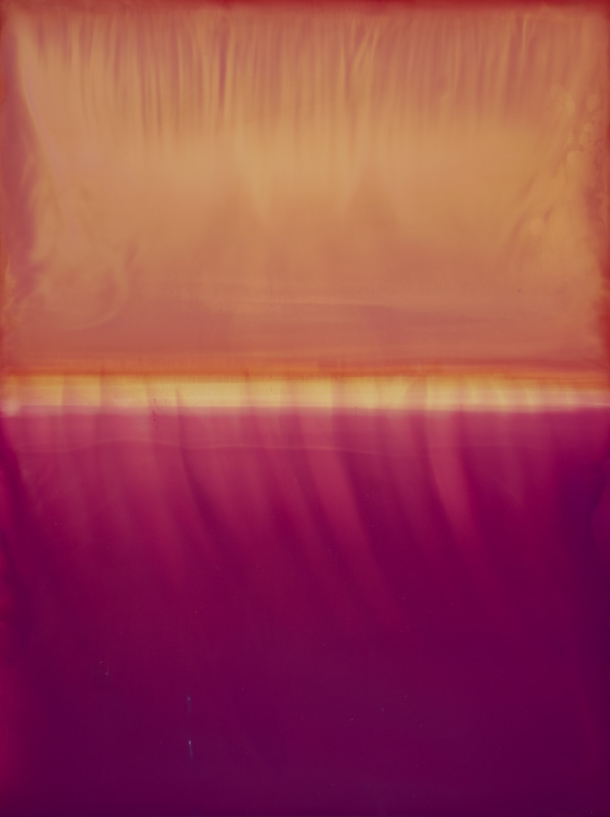 John A. Blythe, KERIII N (PP01.1+5-PF10.1+9)190608 #3 Photography This abstract photograph manages to combine values which are both painterly and photographic, while foregrounding the process of making in a way that draws on conceptual photographic practices.
