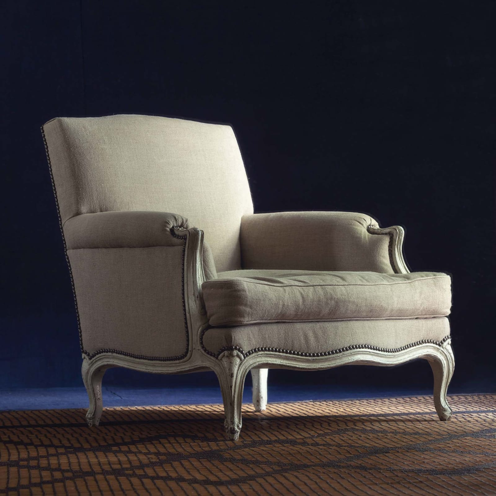 SOLD/Pair of Bergere Chairs