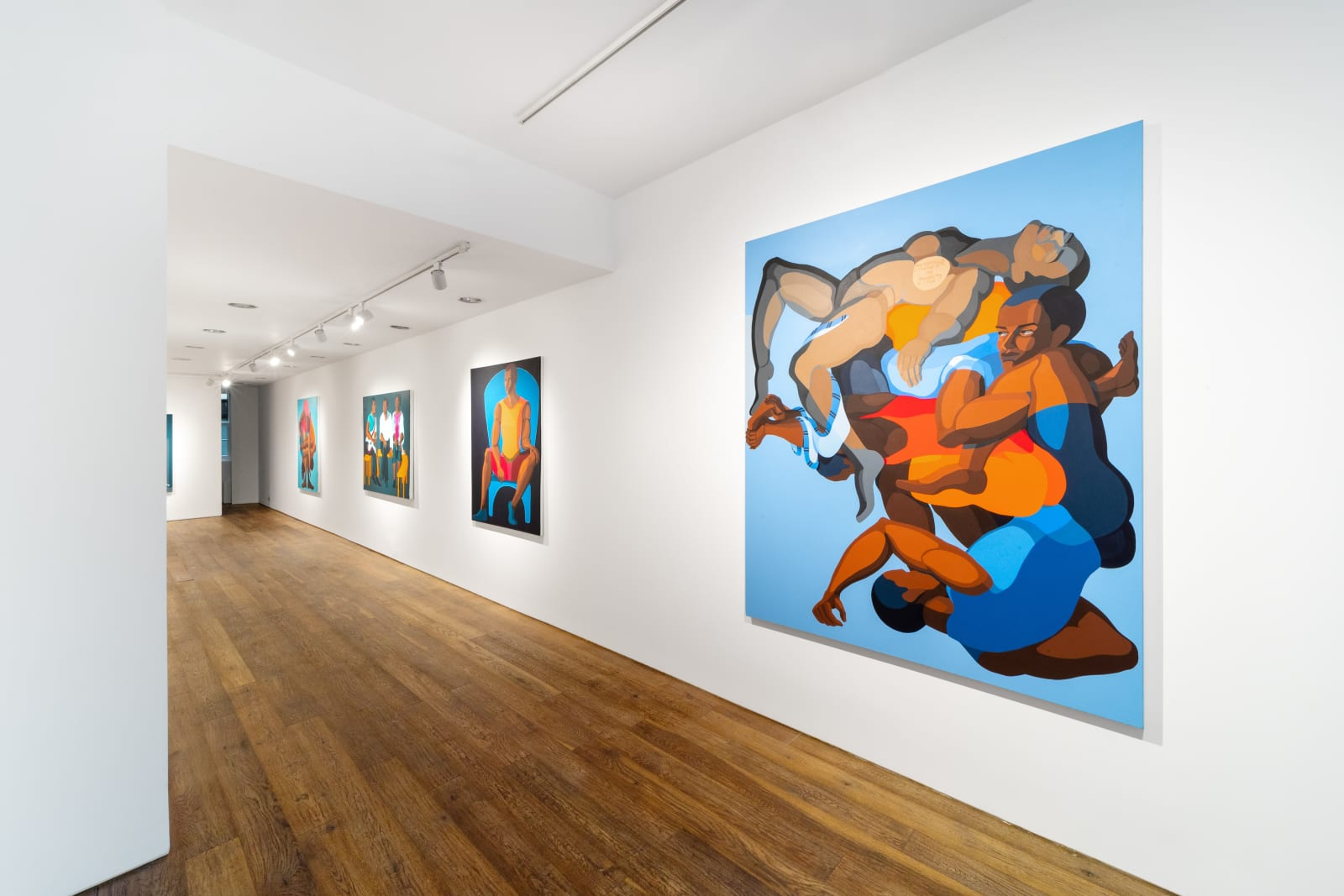 Installation View of The Space Between Us. Courtesy of Lucy Emms.