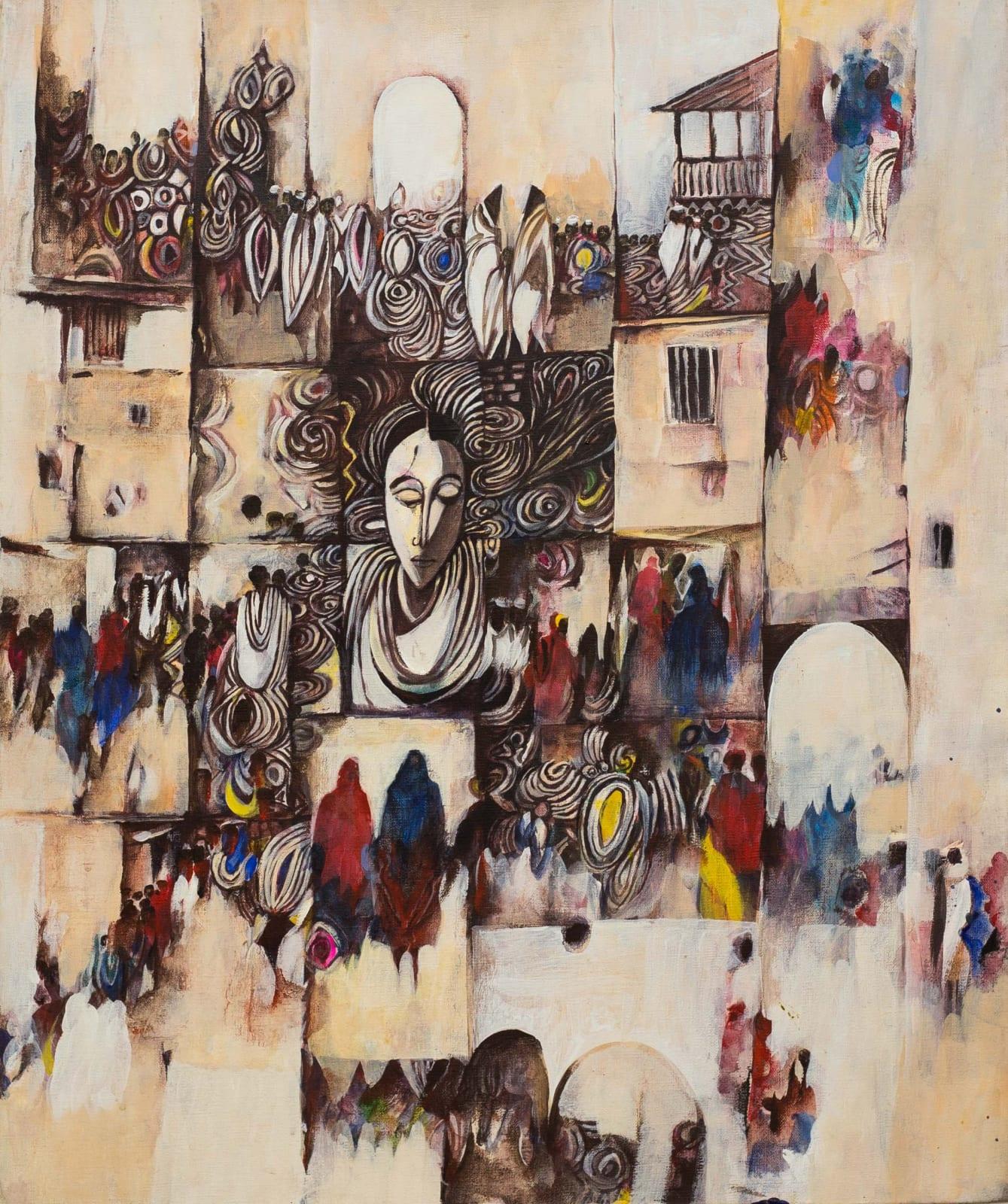 Tibebe Terffa , Impressions II, 2015