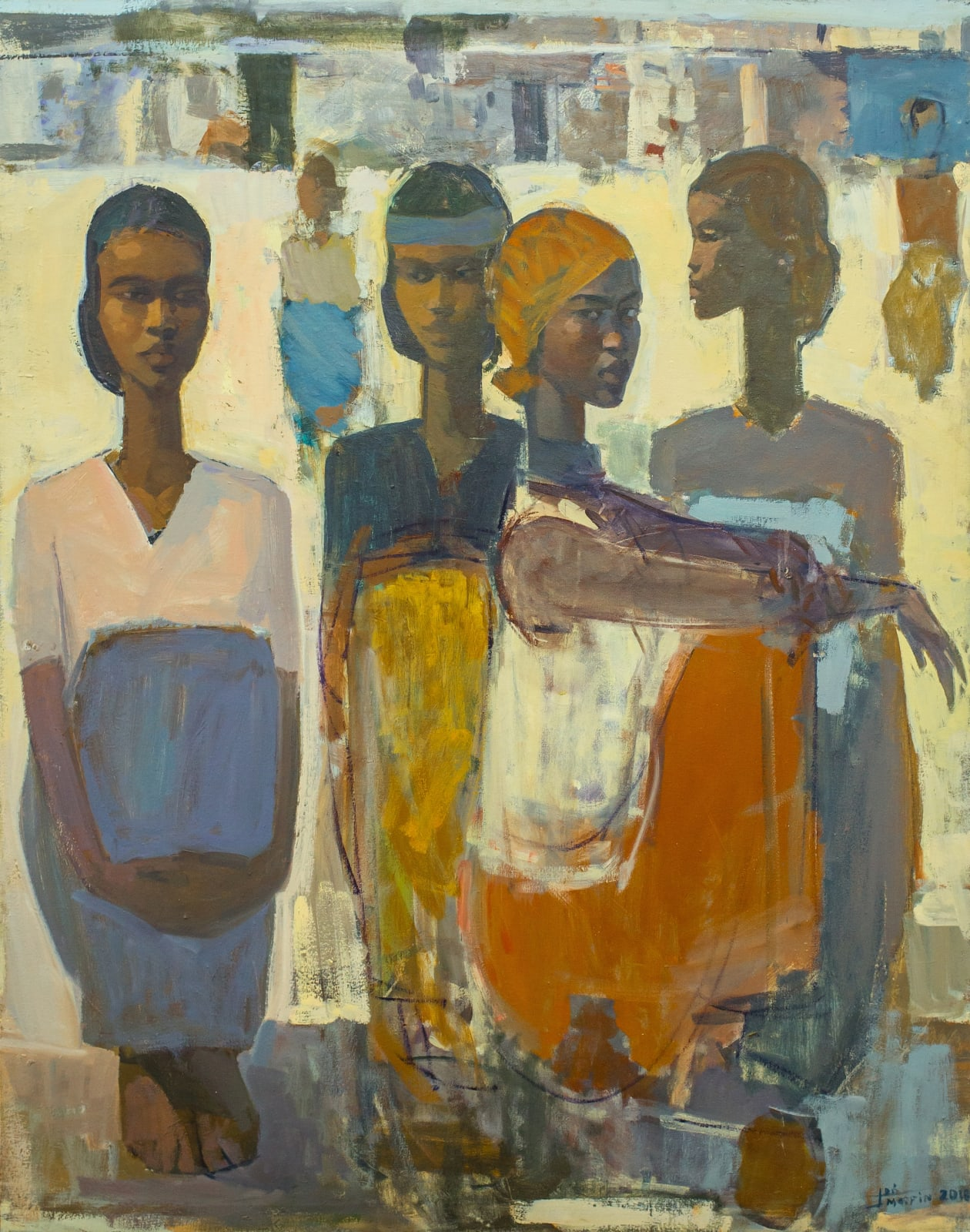 Tadesse Mesfin, Pillars of Life: Neighbours, 2018