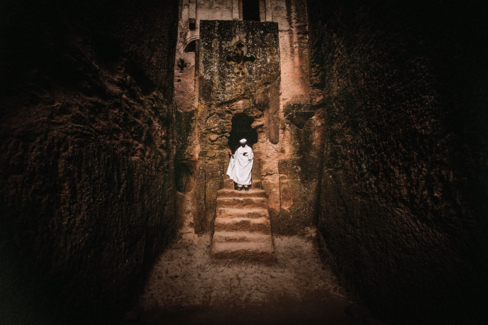 Abiy Solomon, Primordial Modernity: The Raw Spirit of Lalibela I, 2014