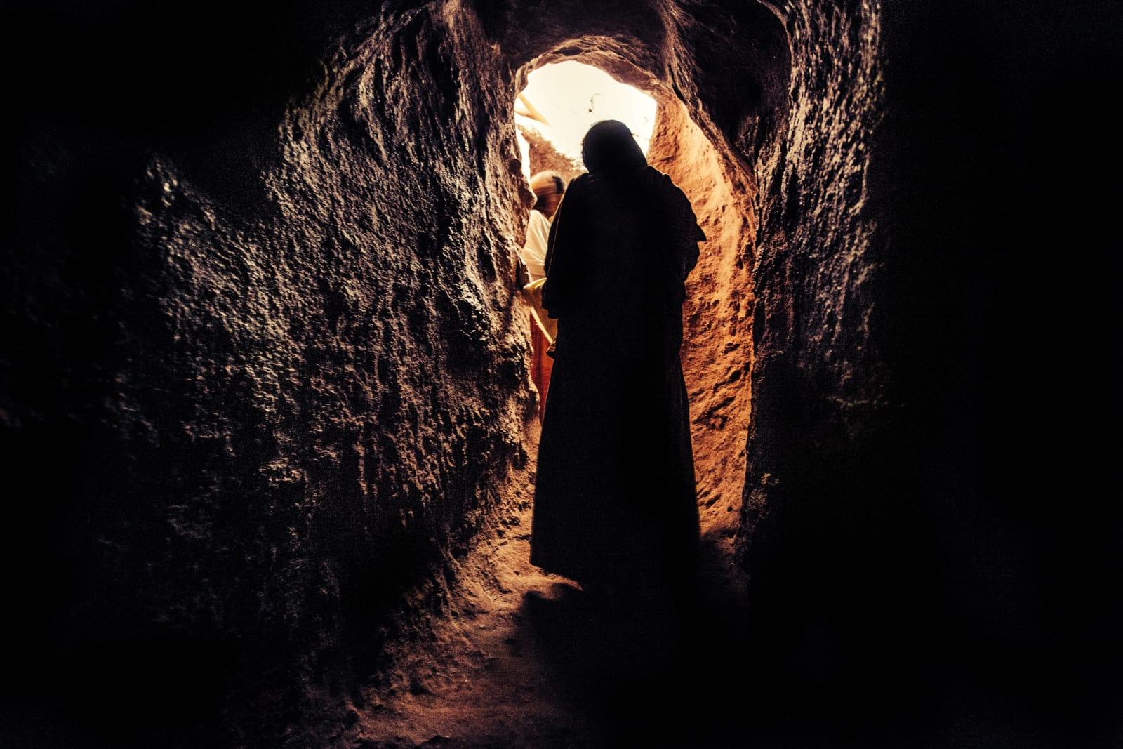 Abiy Solomon , Primordial Modernity: The Raw Spirit of Lalibela IV, 2014