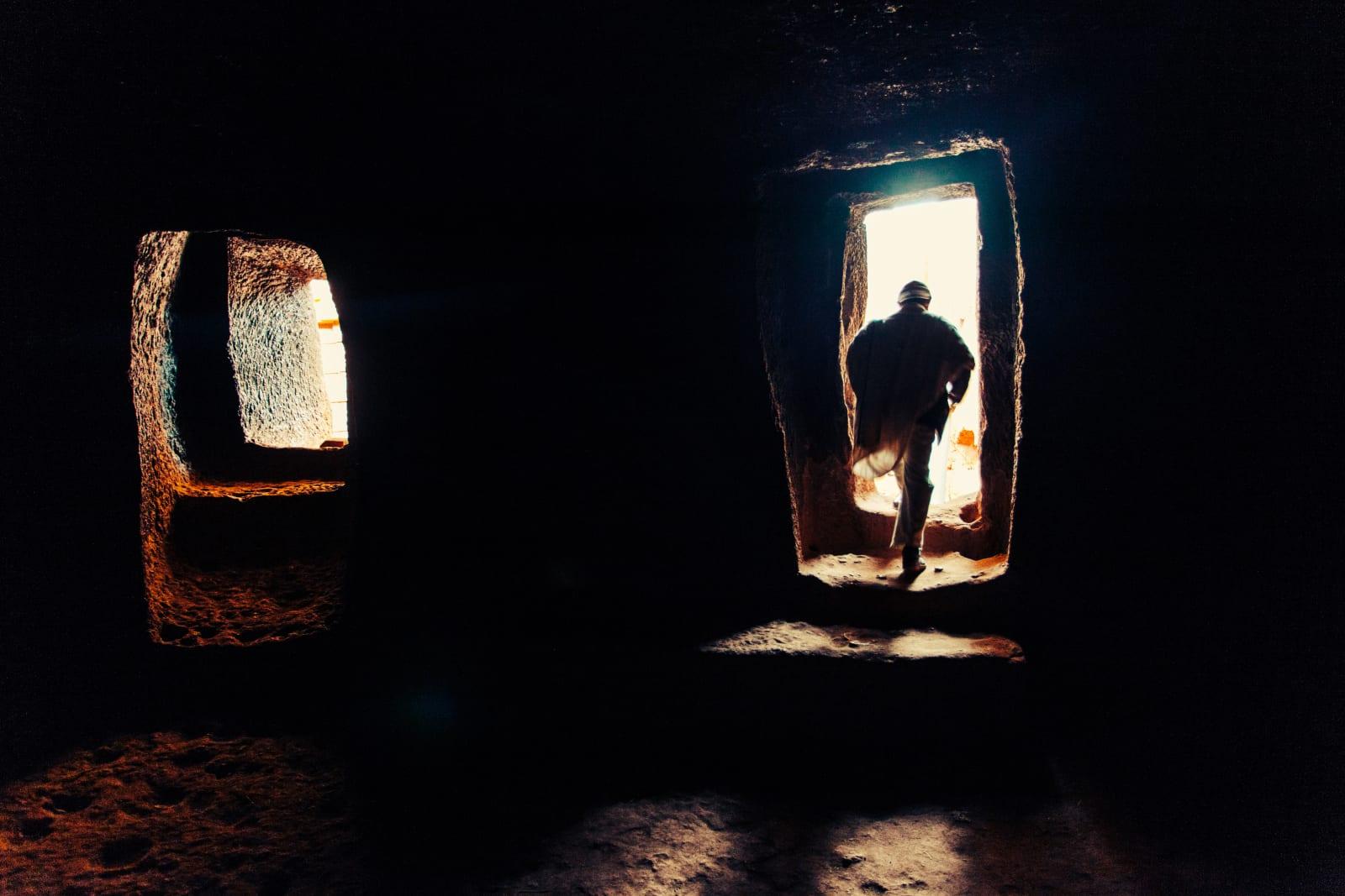 Abiy Solomon, Primordial Modernity: The Raw Spirit of Lalibela VI, 2014