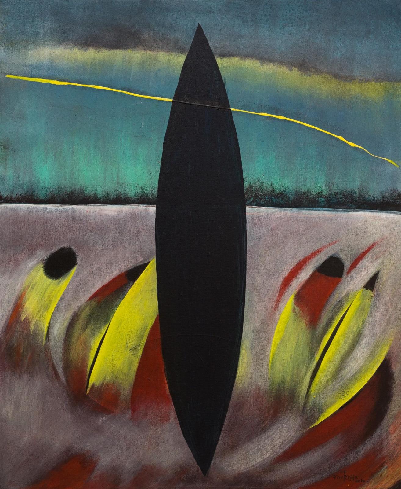 Tibebe Terffa , Untitled V, 2016