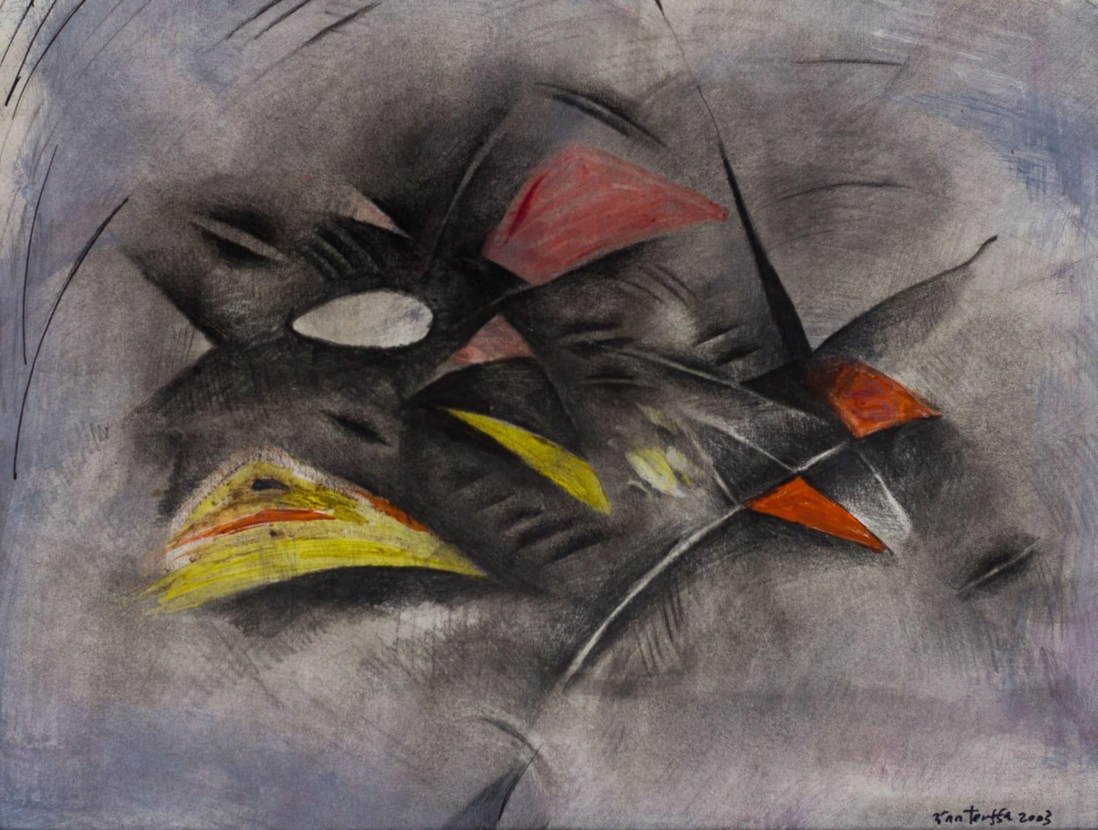 Tibebe Terffa , Untitled on Paper VIII, 2003