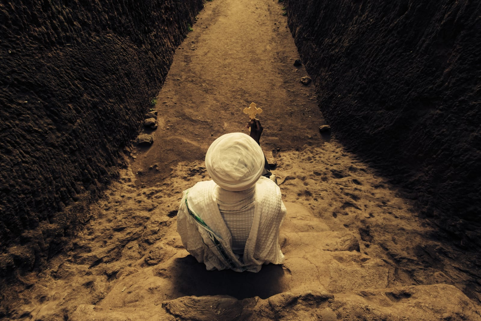 Abiy Solomon, Primordial Modernity: The Raw Spirit of Lalibela II, 2014