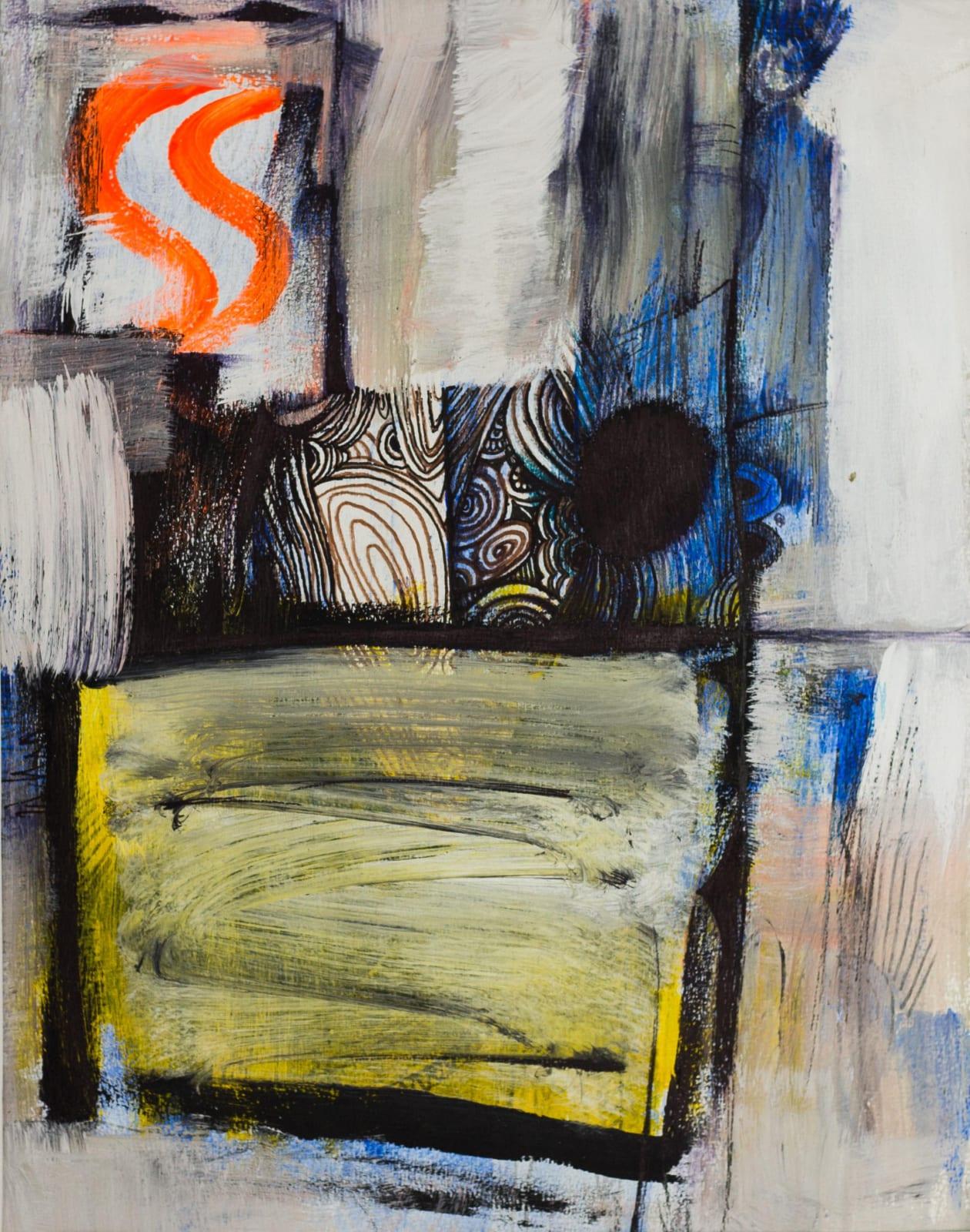 Tibebe Terffa , Untitled on Paper X, 2003