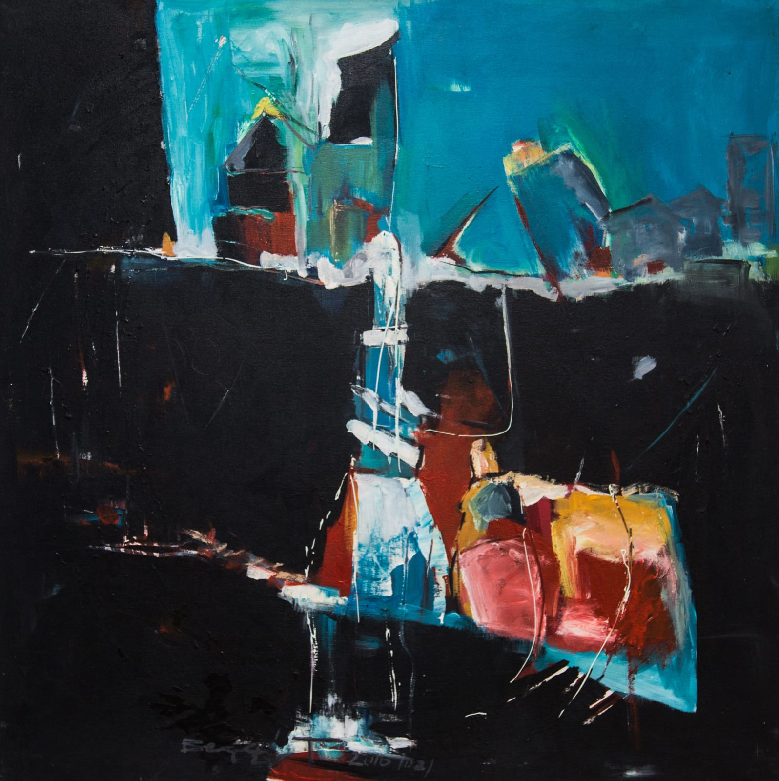 Bezawit Wondwosen, Untitled IV, 2016