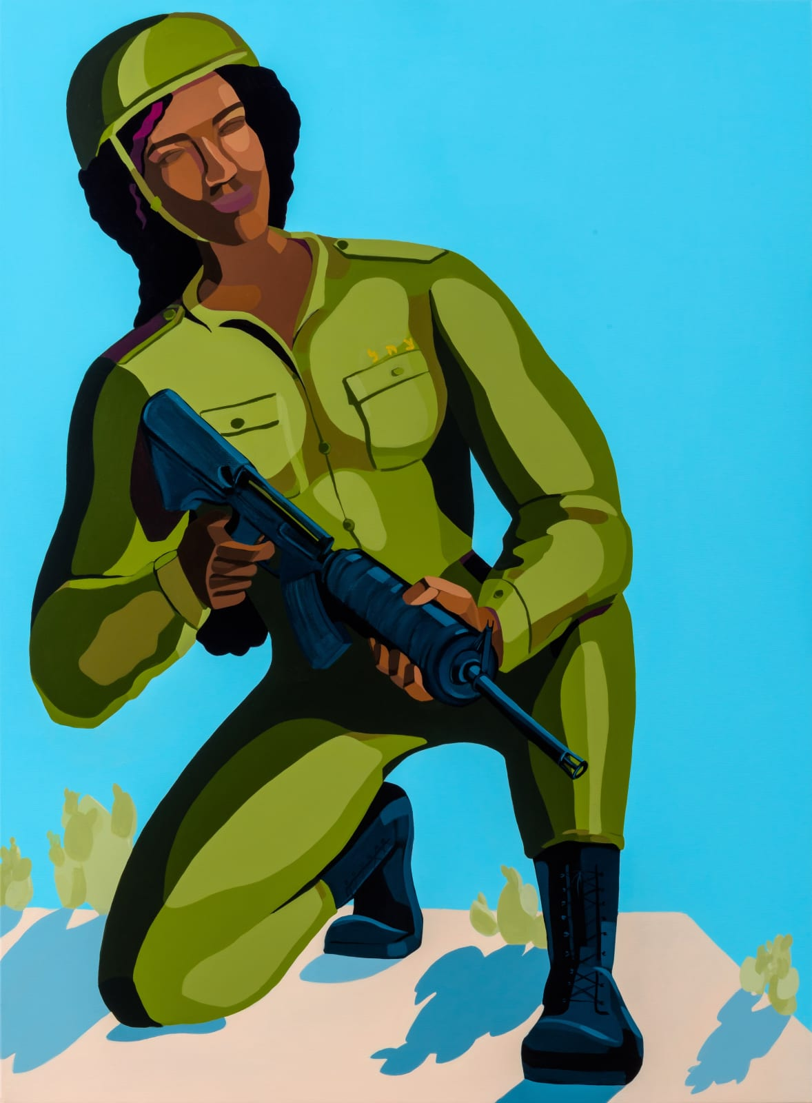 Nirit Takele, Soldier 5328991, 2019. Courtesy of the Artist and Addis Fine Art