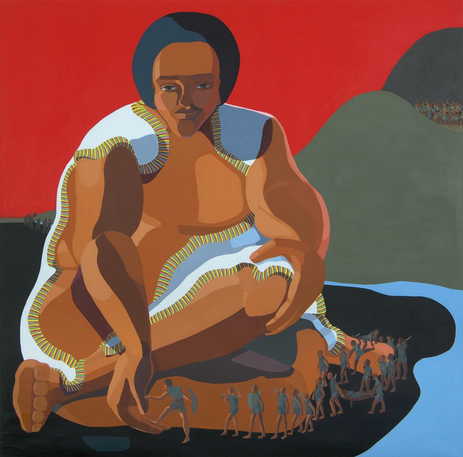 Nirit Takele, Taytu, 2018. Courtesy of the Artist and Addis Fine Art