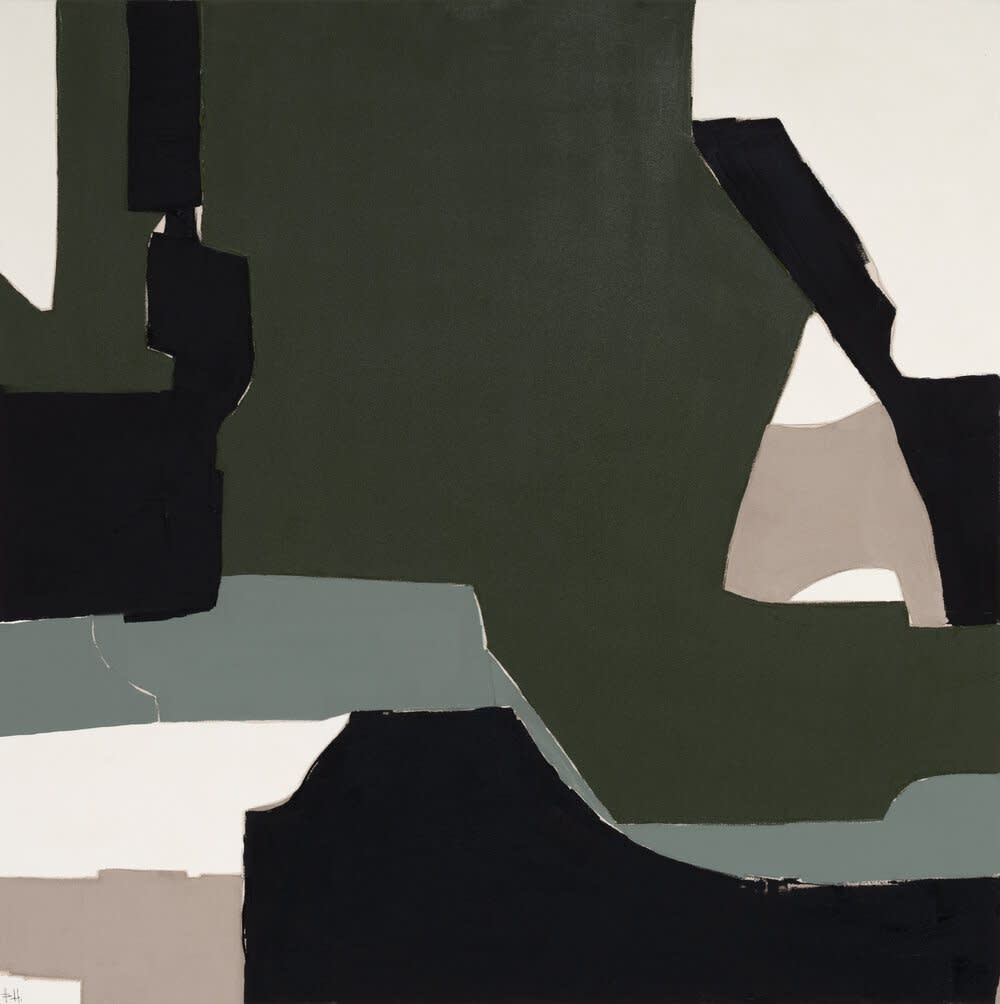 Laurent Acrylic on Canvas 48