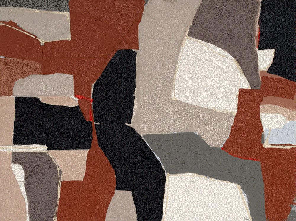 Vince Acrylic on Canvas 36