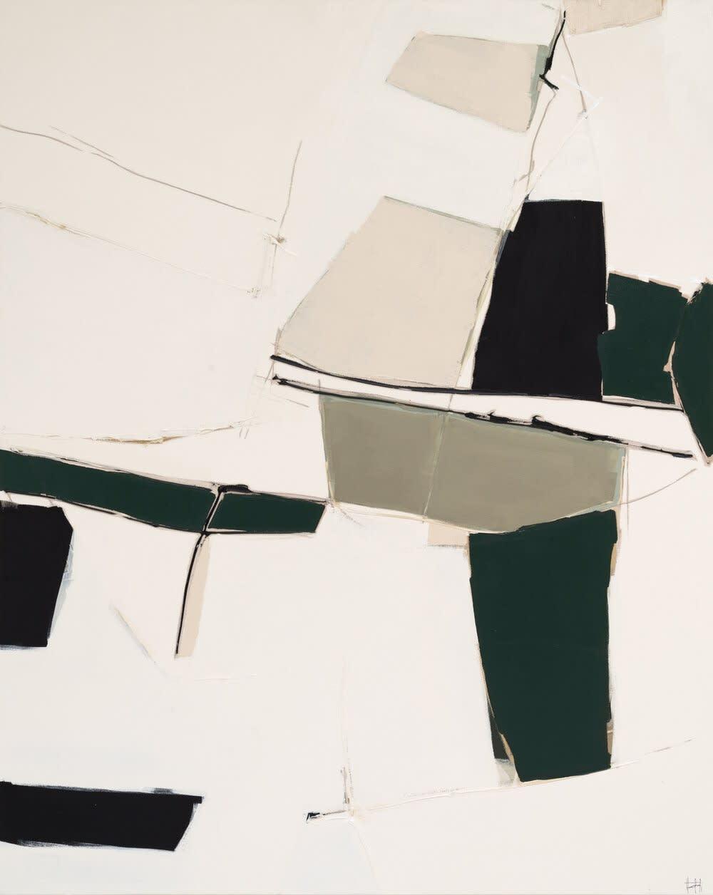 Hinoki Acrylic on Canvas 60