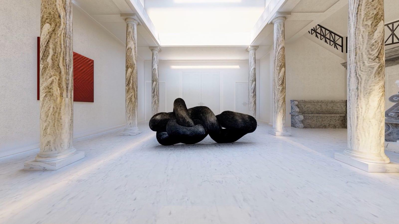 KATE MCCGWIRE Corvid, 2011 122 x 331 x 149 cm