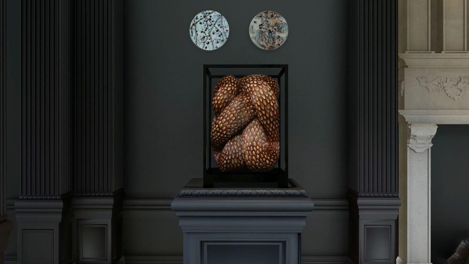 KATE MCCGWIRE Paradox , 2019 56.5 x 42.5 x 42.5 cm