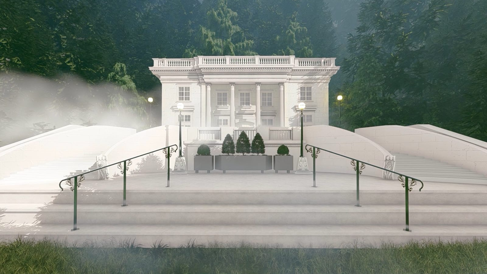 Exterior Le chateau le petit Trianon