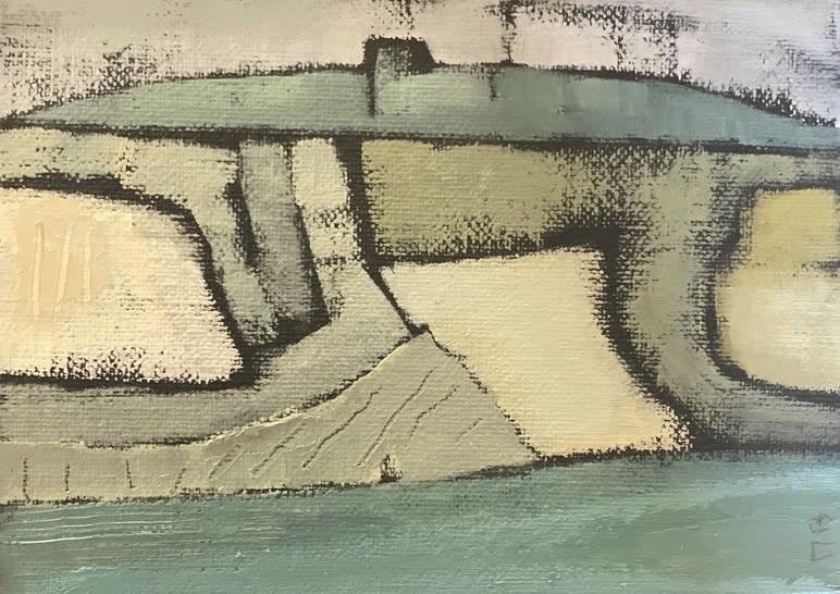 Marie Boyle, Seascape II, 2018