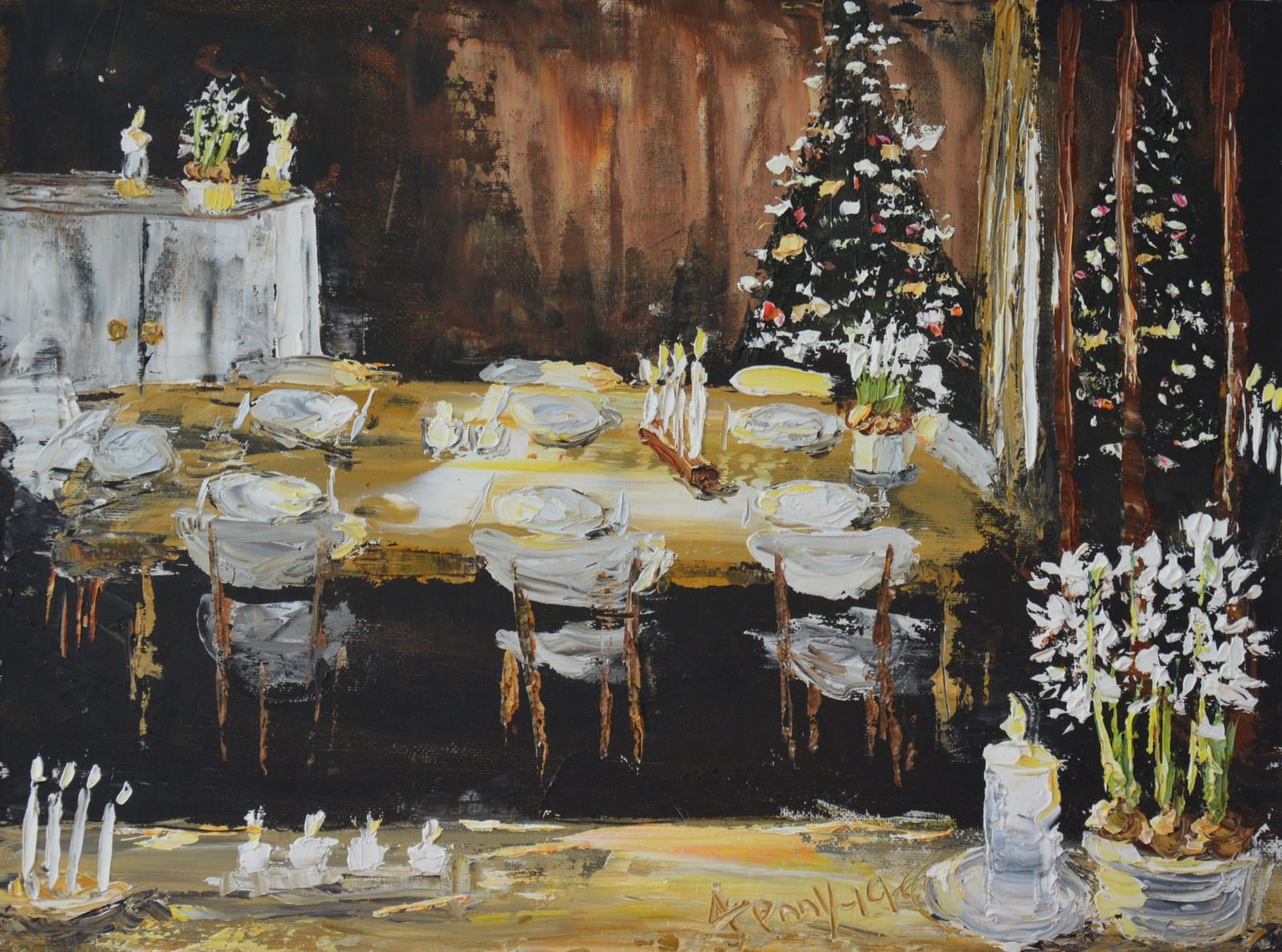 Jenny Wilson, Hyacinths Candles & Christmas