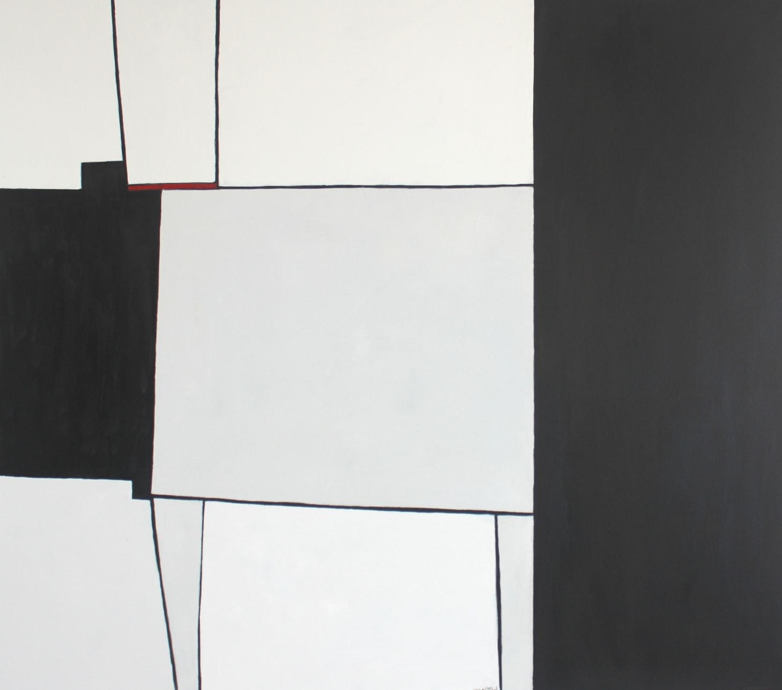 Teresa Lawton, Red Tread, 2018