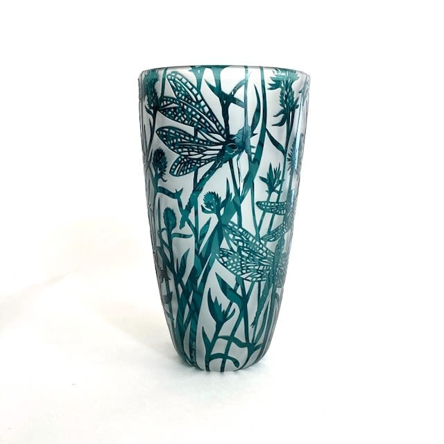 Colin & Louise Hawkins, Dragonfly Vase, 2020