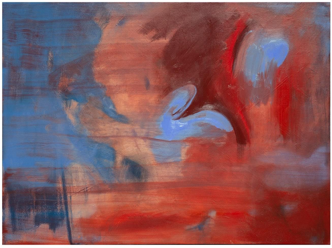 Julia Dubsky Fig Rabbit Duck (Kaninchen und Ente), 2020 Oil on Canvas 92 x 127 cm (WG/JDUB00049)