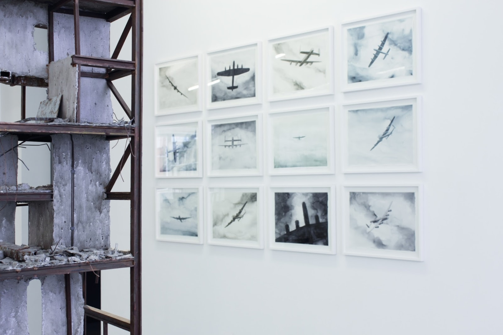 Tobias Bernstrup Installation view, Andréhn-Schiptjenko, Stockholm, Sweden, 2014