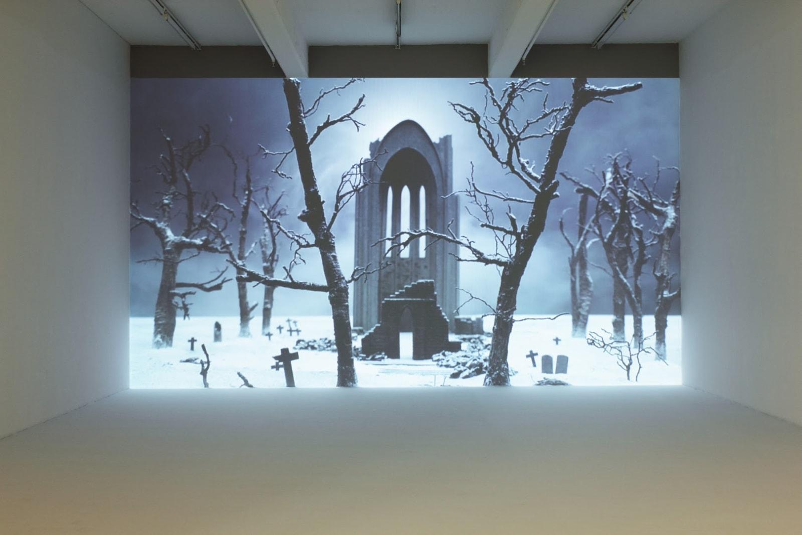 Tobias Bernstrup Installation view 'South of Heaven', at Andréhn-Schopptjenko, Stockholm, Sweden, 2014