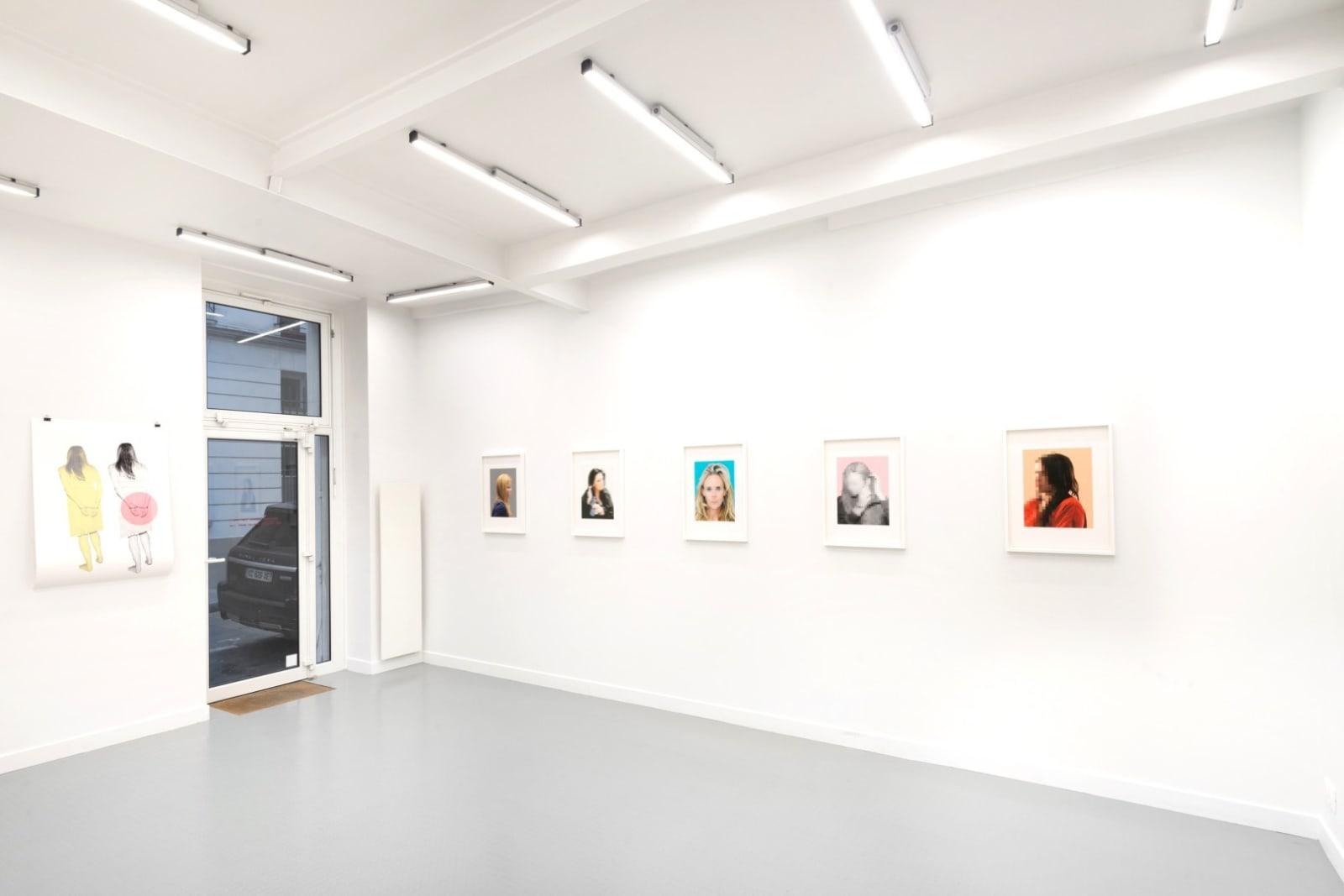 Annika von Hausswolff Installation view at Andréhn-Schiptjenko, Paris, France, 2020