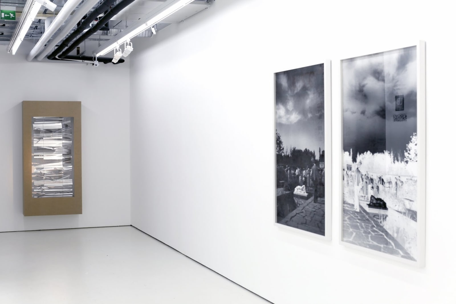 Annika von Hausswolff Installation view from Helsinki Contemporary, Finland, 2013