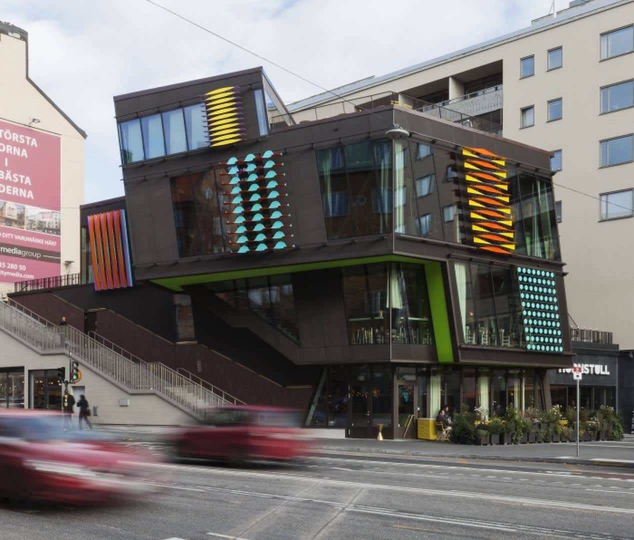 Jacob Dahlgren Permanent installation in Hornstull, Stockholm, Sweden, 2013