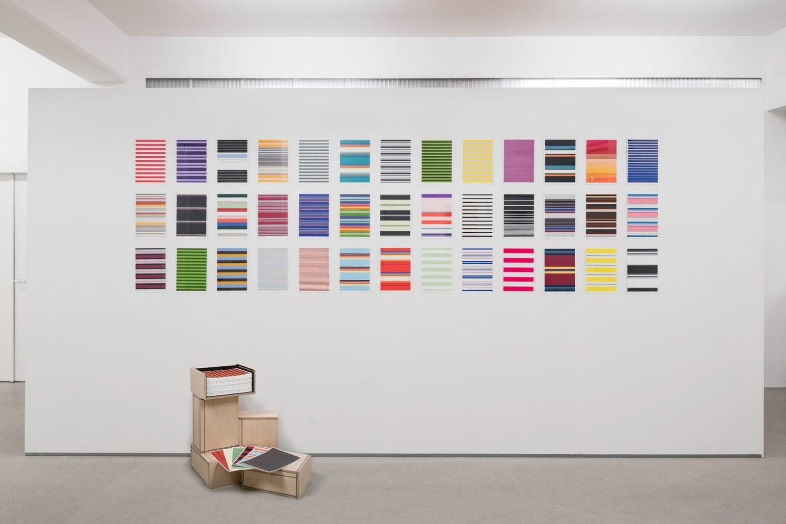 Jacob Dahlgren Installations view, Andréhn-Schiptjenko, Stockholm, Sweden, 2013