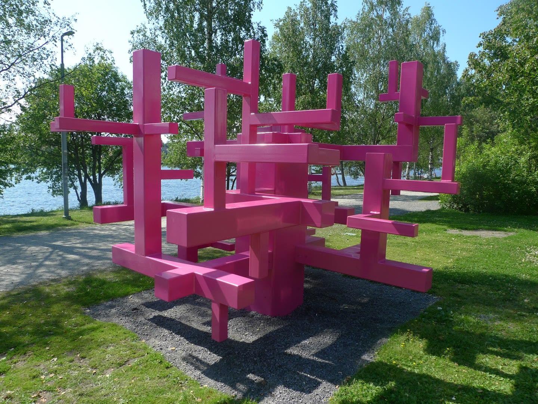 Jacob Dahlgren Constructing a new world Umedalen Skulptur, Sweden, 2010