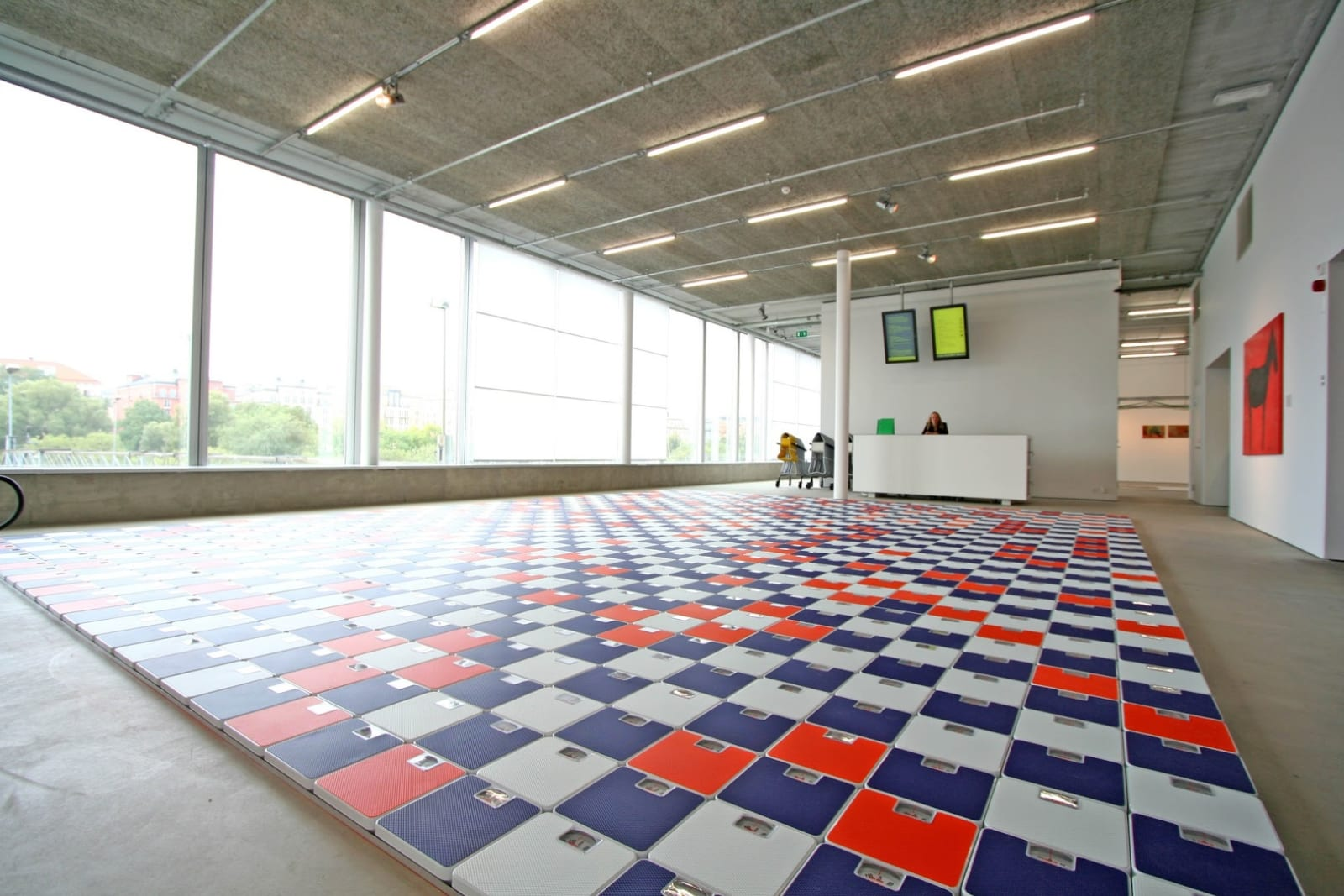 Jacob Dahlgren Heaven is a place on earth, Installation view, Bonniers konsthall, Stockholm, Sweden, 2006