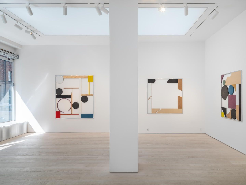 Jacob Dahlgren Installation view