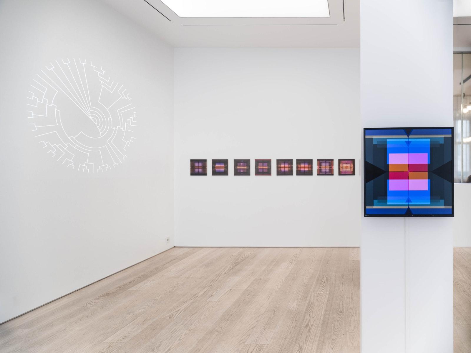 Katarina Löfström Installation view Point Blank at Andréhn-Schiptjenko, Stockholm, 2021