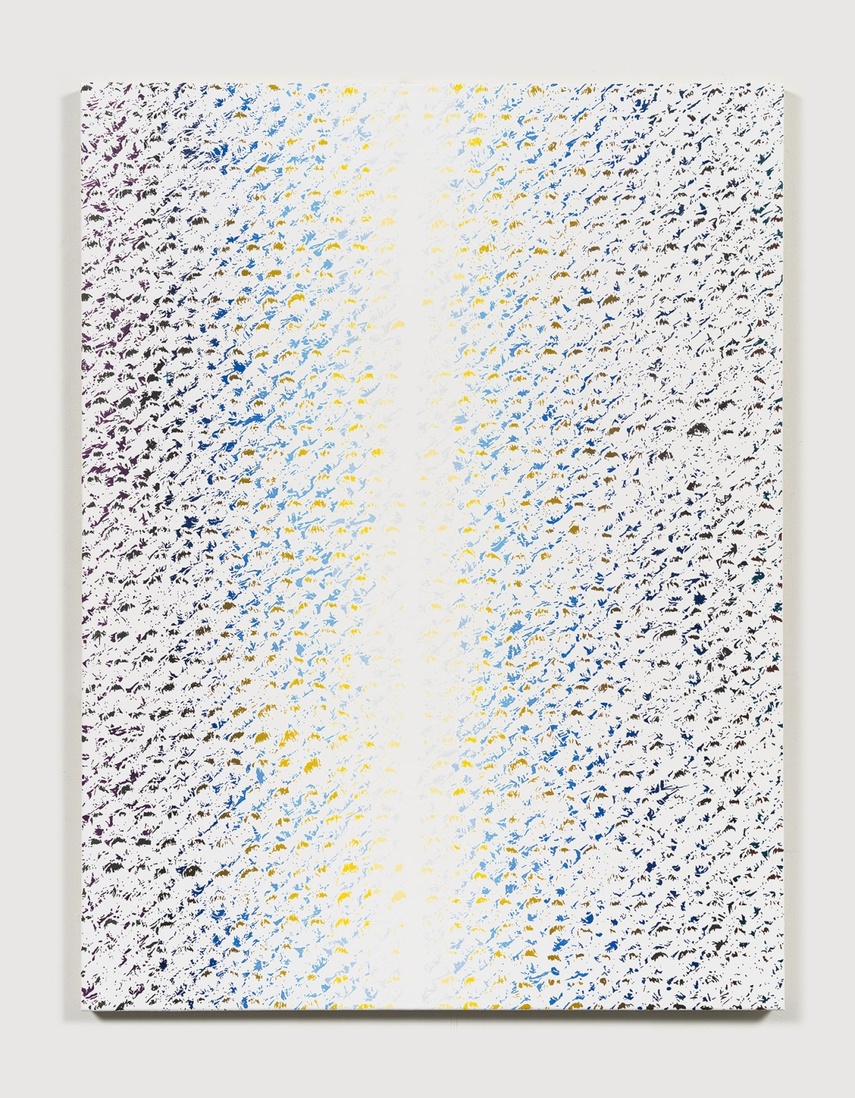 Cheyney Thompson Chronochrome [2E], 2019 Oil on canvas 40 3/4 x 30 7/8 in (103.5 x 78.4 cm)
