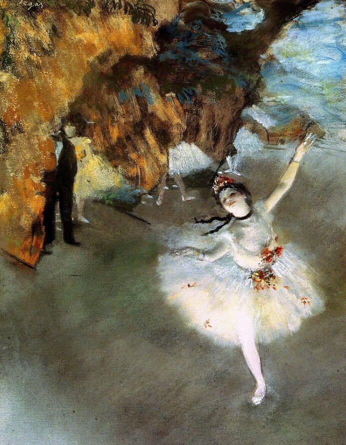 Edgar Degas (1834-1917) The Prima Ballerina