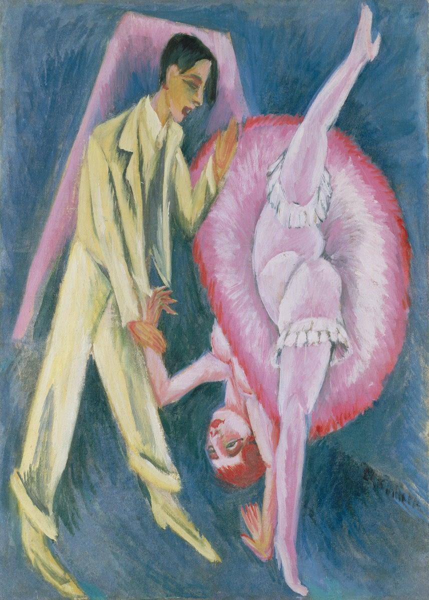 Ernst Ludwig Kirchner (1880-1938) Dancing Couple
