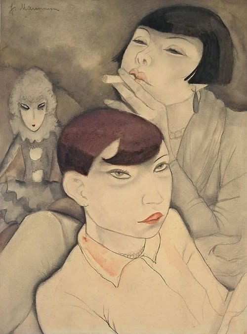 Jeanne Mammen (1890-1976) The Women of Berlin's Cabaret