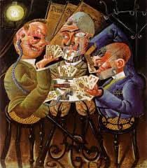 Otto Dix (1891-1969) Skat Players